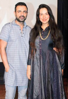 Shraddha Nigam And Mayank Anand At A Dance Performance In Sobo Bollywood Fashion