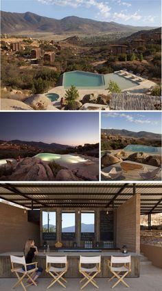 Hotel Endemico eco resort  Baja California www.hotelendemico.com
