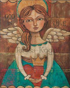 GOD IS LOVE by Teresa Kogut