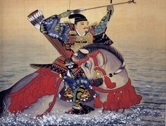 ファイル:NasunoYoichi.jpg - Wikipedia  那須与一 - Wikipedia