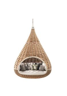 Just hang out in this yurt-like structure, at home. Love it.