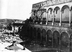 El Alcázar de Toledo tras su liberación
