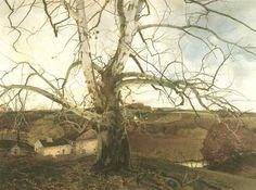 Andrew Wyeth  Pennsylvania Landscape
