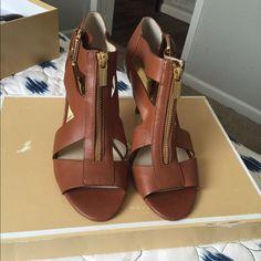 Michael Kor Heels Never worn after trying on Michael Kors Shoes Heels