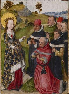 Saint Catherine Converting the Scholars, Flanders.