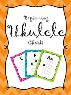 These charts are set up for ukuleles tuned to G, C, E, and A and are for students learning C, C7, F, Am, G, and/or G7 chords. These charts can be hung up as poster in your classroom or used as flashcards.Fingerings included are:CFGAmAC7DG7Em