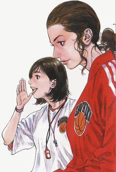 Manga Art, Anime Manga, Slam Dunk Manga, Inoue Takehiko, Basketball Art, Manga Covers, Bleach Anime, Anime Artwork, Caricature