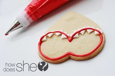 How to decorate lingerie sugar cookies