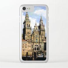 Catedral de Santiago de Compostela/Santiago de Compostela Cathedral Clear iPhone Case