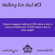 Walking briskly for one mile in 15 minutes burns approximately the same amount of calories as does jogging an equal distance in minutes. Drinks For Constipation, Walk For Life, 10000 Steps A Day, Walking For Health, Step Workout, Workout Humor, I Work Out, Health Tips, Health Recipes