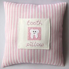 Best 25 Tooth Fairy Pillow Ideas On Pinterest Tooth