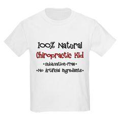 Chiropractic Kid T-Shirt