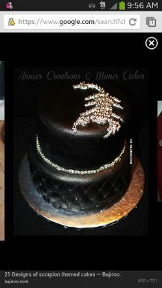 Scorpian Cake