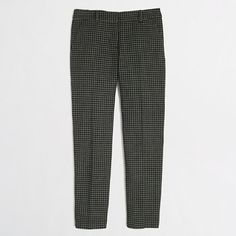 J.Crew Factory - Factory skimmer pant in houndstooth