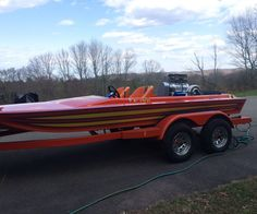 1987 CONDOR TUNNEL HULL JET BOAT, THE BOAT IS 18 FEET 840+ HP BIG ...
