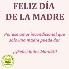¡FELIZ DÍA DE LA MADRE!   El núcleo de una familia es una madre increíble.   ¡ESA ERES TÚ!  #diadelamadre #inspiracioninstagram #dietetica #nutricion #sentimientoautentico #entrelabellezayelcaos #persigueloquequieres #ritaallegue #dietista #ferrol #ferrolmola #fitness #lifestyle #EstePaísLoAlimentamosUnidos #compraenelpequeñocomercio #comerciodeproximidad Fitness, Dietitian, Happy Mothers Day, Unconditional Love, Diets