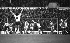 Pat Jennings commits probably the only error of his career (I still think deliberately) as Spurs knock Arsenal out of the FA Cup.