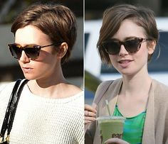 lily-collins-Short-hair -2015-02