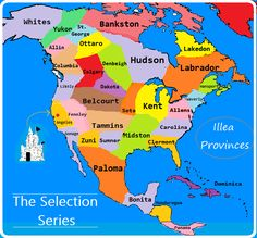 The Selection ILLEA Provinces kiera cass #theselection What Province would you be from?? I would be in Kent:)