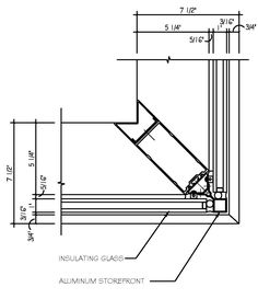 Kawneer Ribbon Window 516 Isoport Window Thermal Windows