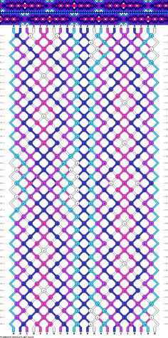 22 strings, 44 rows, 5 colors
