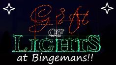 Bingemans' Gift of L