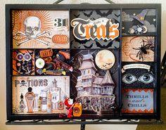 Halloween printer's Tray