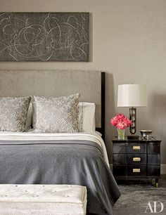Design Inspiration: Grey Bedroom Ideas Photos | Architectural Digest