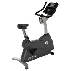 Buy Life Fitness Lifecycle Upright Exercise Bike with Track Connect Console from our Exercise Bikes range at John Lewis & Partners. Home Exercise Bike, Upright Exercise Bike, Exercise Bike Reviews, Upright Bike, Fitness Stores, Health Club, No Equipment Workout, Fitness Equipment, Cycling Equipment