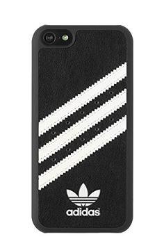 adidas 15666 Coque pour iPhone 5C Noir/Blanc