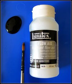 liquitex flow aid - slows the drying time of acrylic paints while you work on the Gelli plate Acrylic Tutorials, Art Tutorials, Gel Press, Gelli Arts, Gelli Printing, Liquitex, Classroom Projects, Plate Art, Fluid Acrylics