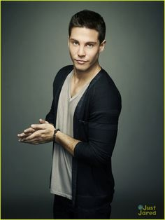 New Glee cast member Dean Geyer stars in Fox's new Faces of Fox campaign.