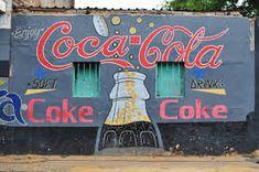 Resultado de imagen para Restaurant Advertisement Painted africa