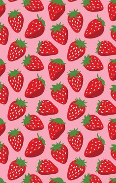 Strawberries! Wallpaper background