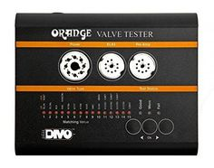 Orange VT1000 Valve Tester   Orange VT1000 Valve Tester Think your tubes may be bad? Get the Orange VT1000 Valve Tester and know for sure. This fully-automatic testing unit performs 15 different tests on each tube. Three different sockets, one octal and two 9-pin, let you check a wide range of popular power and preamp tubes. Front-panel LEDs clearly display testing results in around two minutes. Make sure your tube amp is running in tip-top shape with the Orange VT1000 Valve Tester! ..