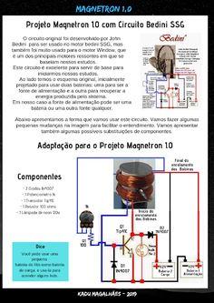 Kadu Magalhães: Fevereiro 2015 Tesla Patents, Motor Generator, Diy Amplifier, Power Supply Circuit, Electronic Schematics, Energy Projects, Circuit Projects, Circuit Diagram, Alternative Energy