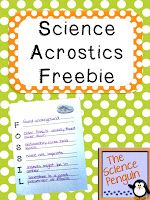 After the popularity of my post on using acrostic poems to reinforce science vocabulary, I decided to create a little freebie with 12 ready-to-print acrostics and some tips and ideas for using acrostic poems in science. Ideas for Use: ~ Create a bulletin board with your acrostics. ~ Use along with a craft. ~ Use …