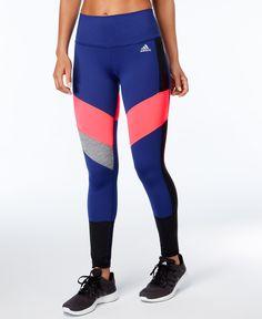 9354263706 adidas ClimaLite Colorblocked Leggings & Reviews - Pants & Capris - Women -  Macy's