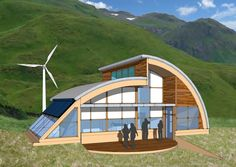 Quonset Hut Homes Plans | Net Zero Challenges Of A Wet, Windy, Remote Island | EarthTechling