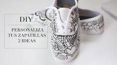 Resultado de imagen para zapatillas pintadas con mandalas