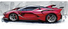 Automotive Design | Ferrari FXX Design (2015)