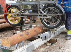 Homemade band sawmill plans pdf beste awesome inspiration bandsaw plans sawmill band sawmill kit big cat sawmill kit cuts band sawmill plans pdf band sawmill parts for band sawmill Homemade Chainsaw Mill, Homemade Bandsaw Mill, Portable Bandsaw Mill, Portable Saw Mill, Woodworking Courses, Learn Woodworking, Woodworking Plans, Lumber Mill, Wood Mill