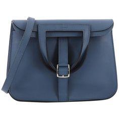 55fe5c9acd75 Hermès Halzan Swift 22 Top Handle Bag