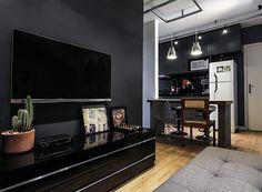 Decoração de apartamento pequeno cheio de estilo e conforto