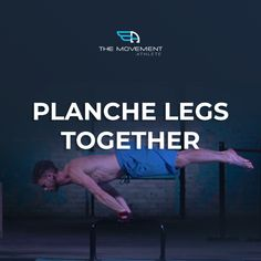 TODAY'S CHALLENGE: Planche Legs Together Reps: 3 rounds x 10 seconds hold  The planche is a mesmerizing skill that equates to elite strength, technique, and skill.  It's a static exercise where you are fully supported by your arms (like in a handstand), but your full body is parallel to the ground which makes this exercise completely more difficult than a handstand. 10 Seconds, Handstand, Calisthenics, Upper Body, Full Body, Hold On, Athlete, Exercises, Strength