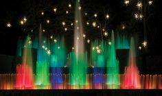 Half a million twinkling lights, thousands of poinsettias, and magnificent Christmas trees set the stage for Longwood Gardens in the Philadelphia countryside. Here, beautifully lit fountains dance in their starry holiday wonderland. Plan your holiday vacation here to enjoy this scenic attraction. #PAHolidays