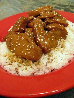 crock Pot Teriyaki Chicken, amazing!