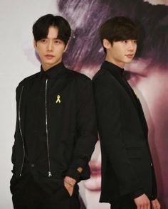 Lee Jong Suk and Park Hae Jin at 'Doctor Stranger' press conference