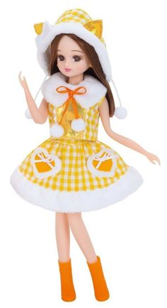 Licca Chan Doll Clothes Cat Foodie Dress Japan Import Takara Tomy Wear Outfit | eBay