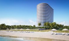 Eighty Seven Park by Renzo Piano is a selection of private Miami Beach oceanfront residences designed to seamlessly embrace park and ocean in Miami Beach's newest neighborhood.